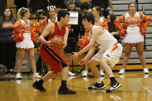 09 Boys Basketball:   South Webster at Wheelersburg 2018