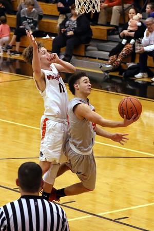 12 Boys Basketball:  Minford at Wheelersburg 2018