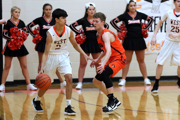 18 Boys Basketball:  Wheelersburg at West 2018