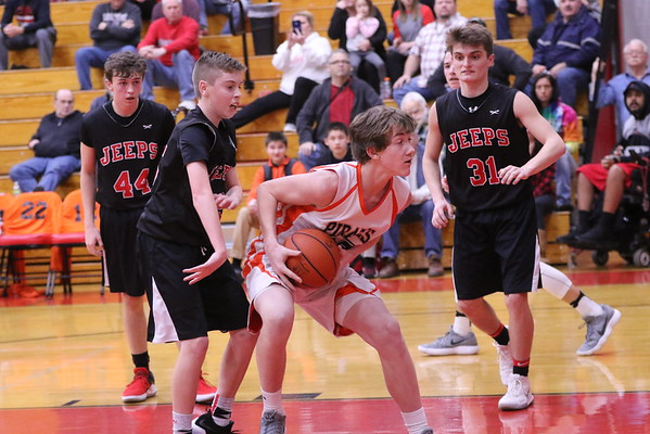 18bJH 8th Grade Basketball:  Wheelersburg 8th vs. South Webster 8th