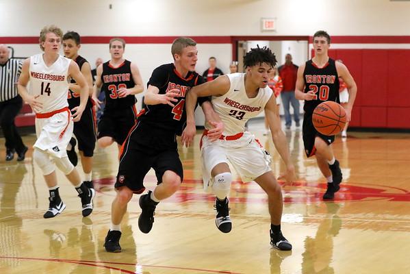 21 Boys Basketball:  Wheelersburg vs. Ironton (Sectional) 2018
