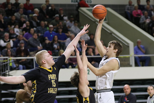 22b Boys Basketball:  Oak Hill vs. Paint Valley 2018