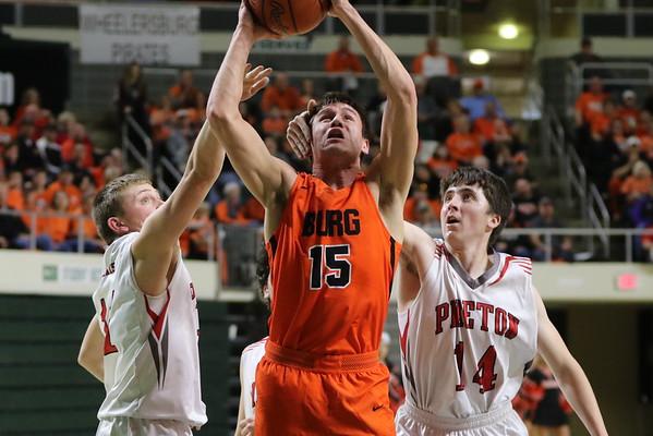 23 Boys Basketball:  Wheelersburg vs. Piketon (District) 2018
