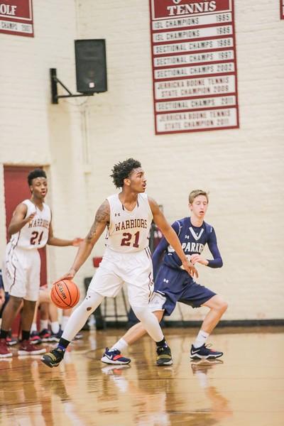 Boys Basketball - Varsity vs. Parker