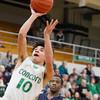 SAM HOUSEHOLDER   THE GOSHEN NEWS<br /> Concord senior Ramon Johnson shoots the ball against Elkhart Central Tuesday.