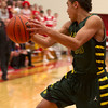 SAM HOUSEHOLDER | THE GOSHEN NEWS<br /> Wawasee junior Stori Bright grabs a rebound against Westview Tuesday during the game.