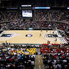 Record-Eagle/Jan-Michael Stump<br /> Traverse City St. Francis takes on Flint Beecher in the first half of Saturday's Class C state finals in East Lansing.
