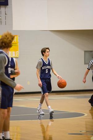 JV Basketball vs Gunnery