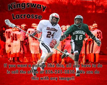 Boy's Lacrosse - Kingsway vs Winslow - 4/9/09 (Junior Varsity)