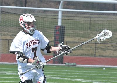 GA plays Peddie in Boys Lacrosse