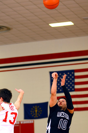 3-5-14  ---  Boys sectionals between Western and West Lafayette HS. -- <br /> KT photo | Tim Bath