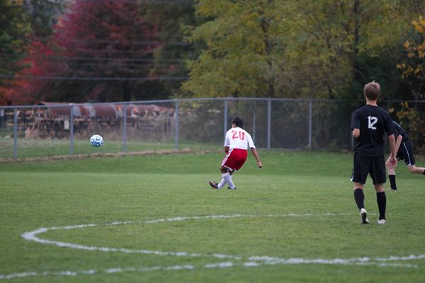 2014 Boys Soccer Regional: Goshen vs. NorthWood