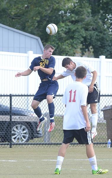 Wissahickon plays Upper Dublin in Boys Soccer