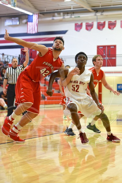 Lakota West Boys Basketball vs. Fairfield 1.31.17 (JV & Varsity)
