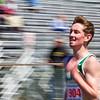 SAM HOUSEHOLDER | THE GOSHEN NEWS<br /> Wawasee's Adam Doll runs a 1600 meter race Saturday during the Goshen Relays.