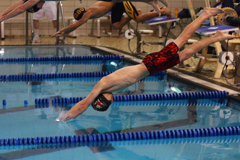 Zach Sievert off the blocks.