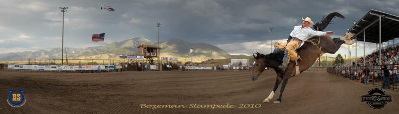Bozeman Stampede 2010 Pano Cowboy Final