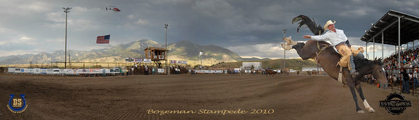 Bozeman Stampede 2010 Pano Cowboy 2-2-2right