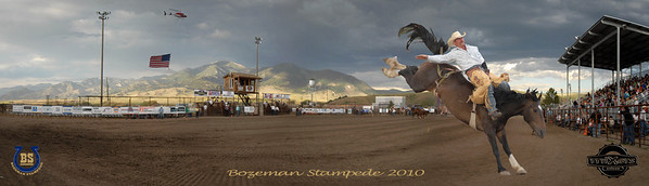 Bozeman Stampede 2010 Pano Cowboy 2-2 right