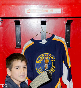 2012 Saddledome hockey game