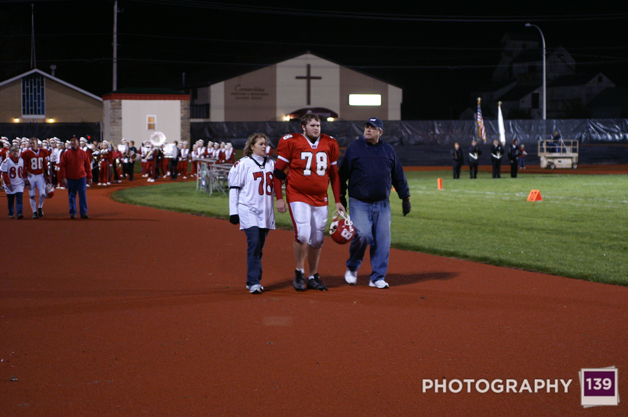 Brandon Kahler - Senior Night
