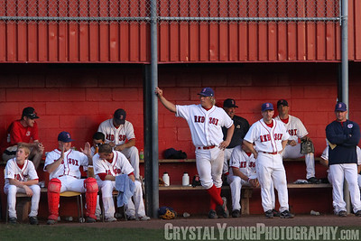 London Majors at Brantford Red Sox June 24, 2009