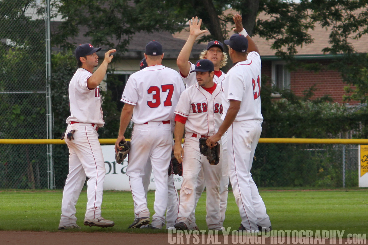 Mississauga Twins at Brantford Red Sox August 1, 2009