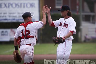 Hamilton Cardinals at Brantford Red Sox May 26, 2012