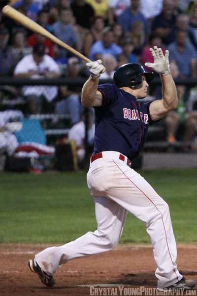 Barrie Baycats at Brantford Red Sox IBL Playoffs, Finals Game 1 August 23,  2012