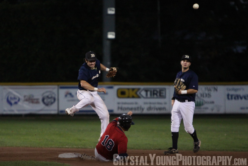 Burlington Twins at Brantford Red Sox IBL Playoffs, Round 1 Game 5 August 3,  2012
