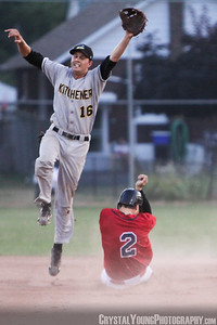 Kitchener Panthers at Brantford Red Sox July 13, 2012
