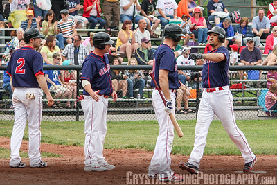 Hamilton Cardinals at Brantford Red Sox June 1, 2013