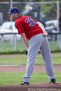Brantford Red Sox at Hamilton Cardinals May 25, 2014