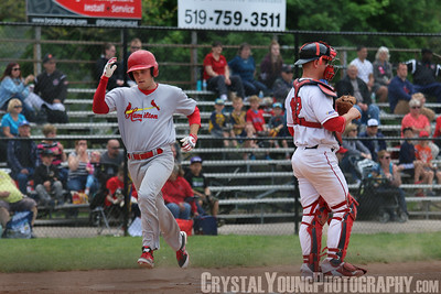 Hamilton Cardinals at Brantford Red Sox May 21, 2016