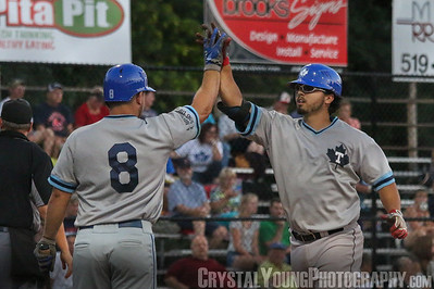 Toronto Maple Leafs at Brantford Red Sox IBL Playoffs Round 1 Game 4 August 10, 2016