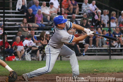 Toronto Maple Leafs at Brantford Red Sox Intercounty Baseball League Playoffs Round One Game Five August 14, 2016