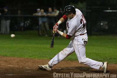 Toronto Maple Leafs at Brantford Red Sox Intercounty Baseball League Playoffs Round One Game Seven August 17, 2016