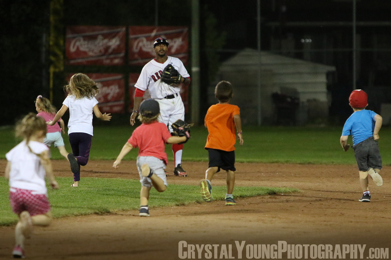 Toronto Maple Leafs at Brantford Red Sox Intercounty Baseball League Playoffs Round One, Game One August 3, 2016