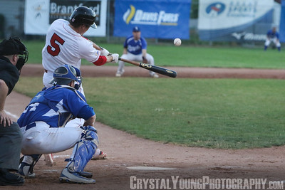 Guelph Royals at Brantford Red Sox July 15, 2016
