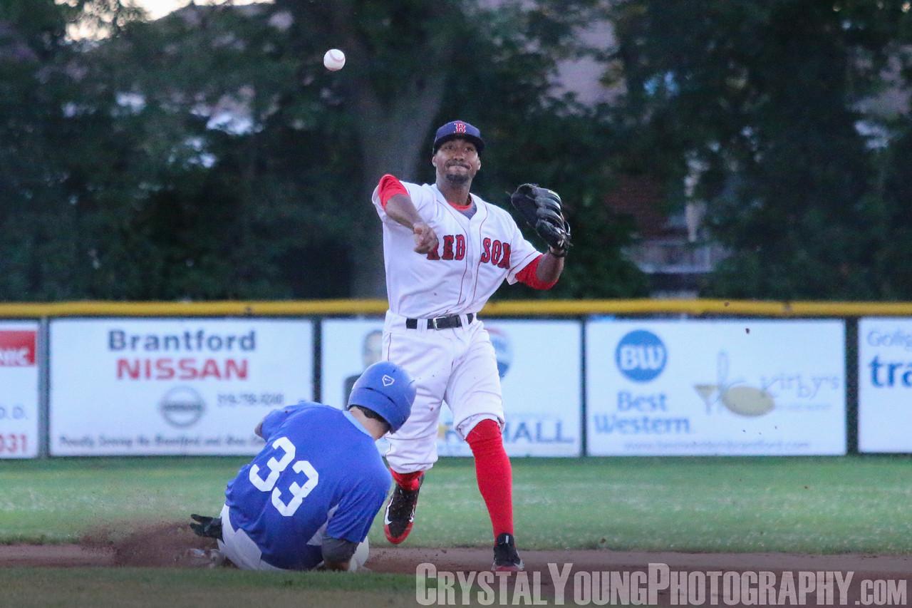 Guelph Royals at Brantford Red Sox July 15, 2016