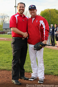 London Majors at Brantford Red Sox Season Opener May 13, 2017
