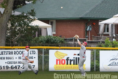 Hamilton Cardinals at Brantford Red Sox June 28, 2017