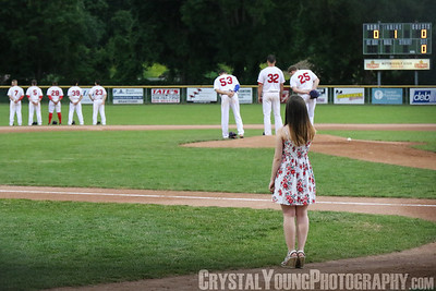 Burlington Herd at Brantford Red Sox July 7, 2017