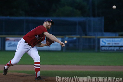 Toronto Maple Leafs at Brantford Red Sox IBL Playoffs, Quarterfinals Game 6 August 10, 2017