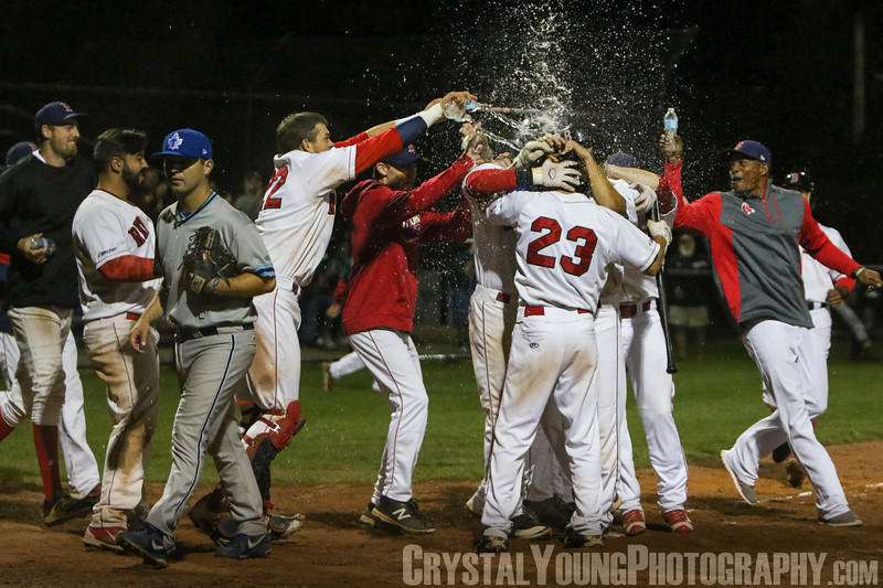 Toronto Maple Leafs at Brantford Red Sox IBL Playoffs - Quarterfinals Game 2 August 4, 2017