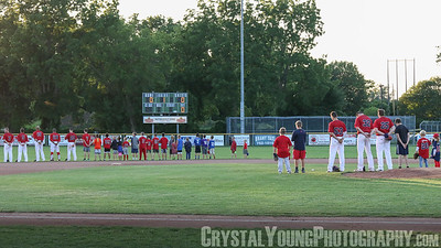 Toronto Maple Leafs at Brantford Red Sox Brantford Minor Baseball Night July 14, 2017