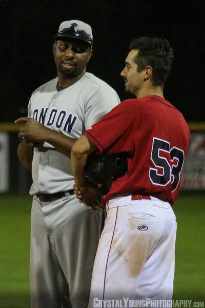 London Majors at Brantford Red Sox July 31, 2017