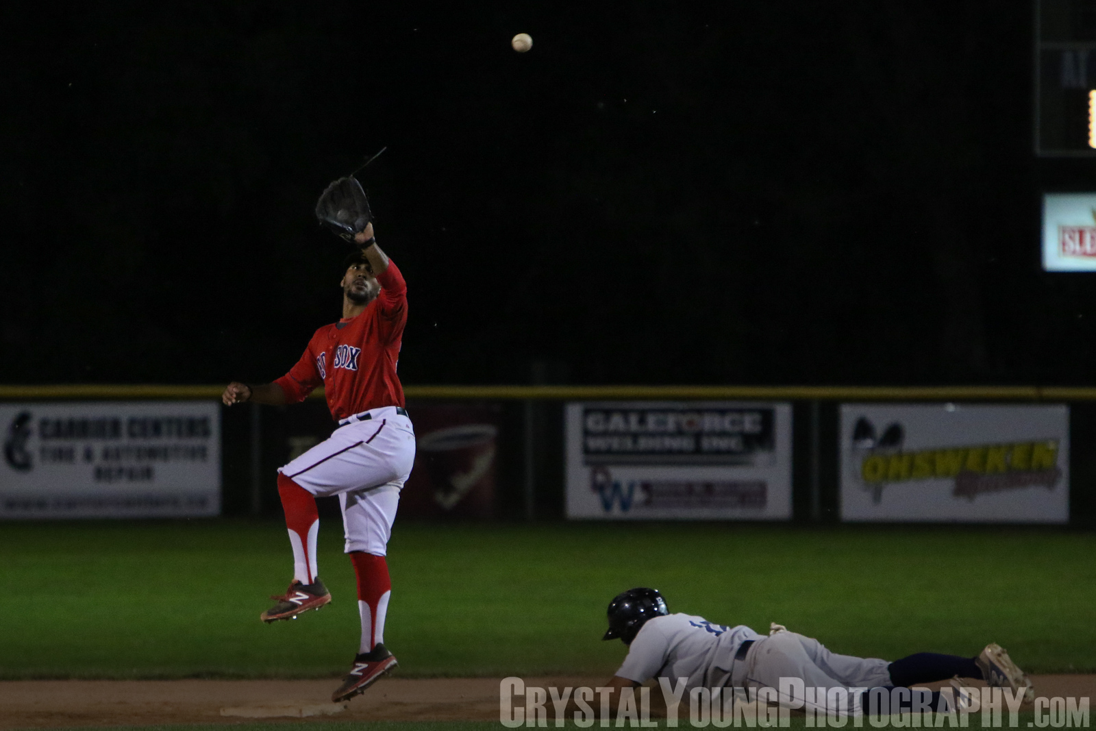 London Majors at Brantford Red Sox July 31, 2017