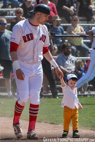 Brantford Red Sox vs. Hamilton Cardinals<br /> 2018 Intercounty Baseball League Season Opener<br /> May 13, 2018
