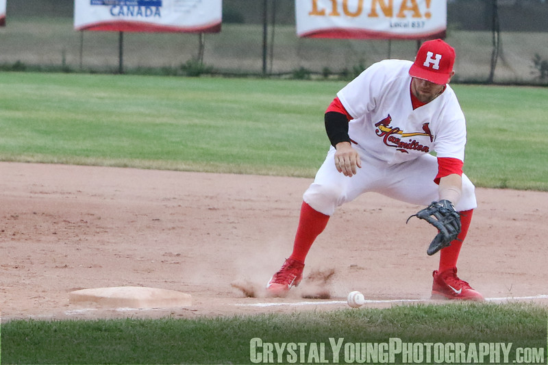 Brantford Red Sox at Hamilton Cardinals July 20, 2018